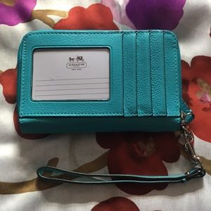 Coach all in one wristlet